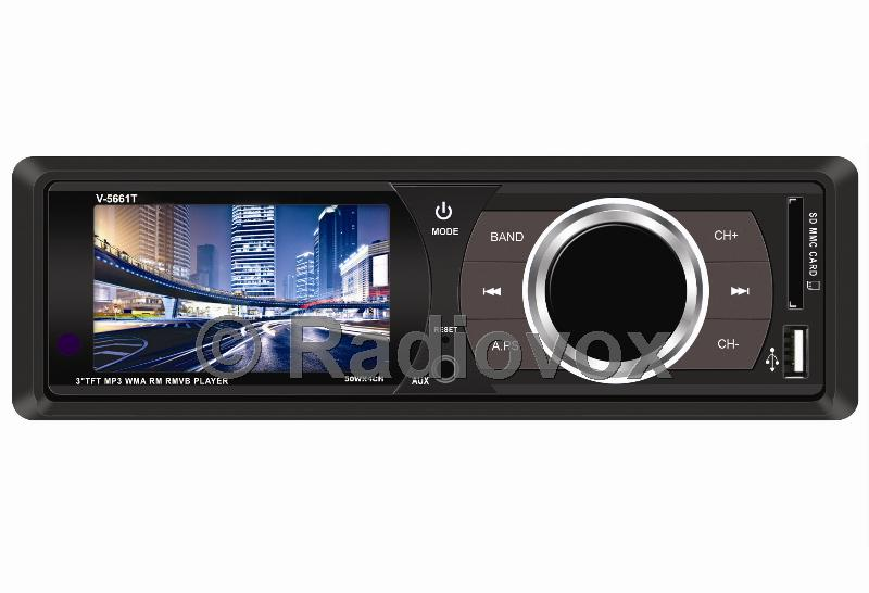 "AUTO RADIO CON PANTALLA DE 3.5"""