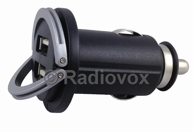 CARGADOR DOBLE USB 12V 24V