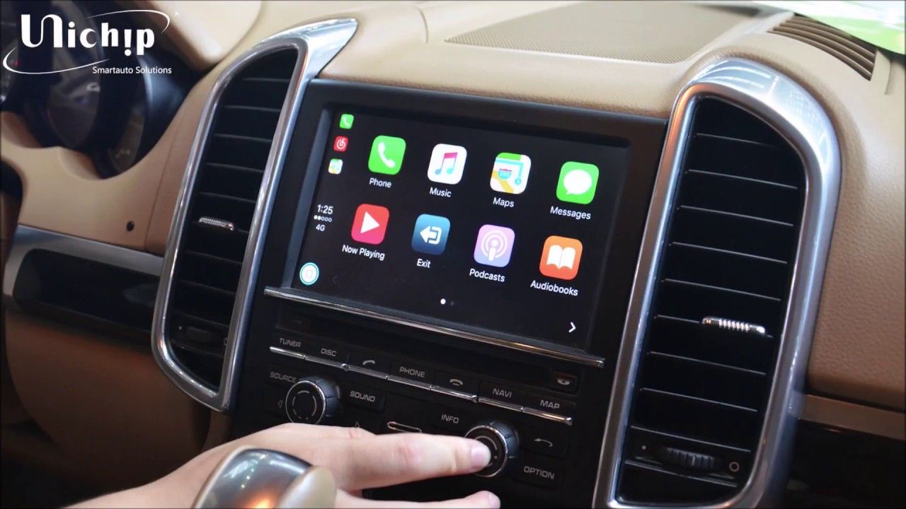 CARPLAY PARA PORSCHE PCM 3.1