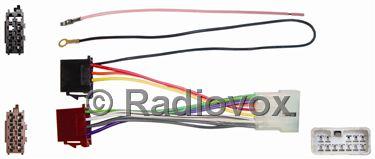 CONECTOR ISO RADIO SUZUKI VALENO 95>