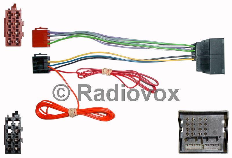 CONECTOR RADIO MERCEDES