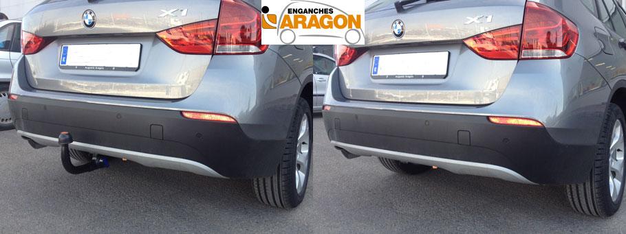 ENGANCHE BMW X1 DESMONTABLE VERTICAL