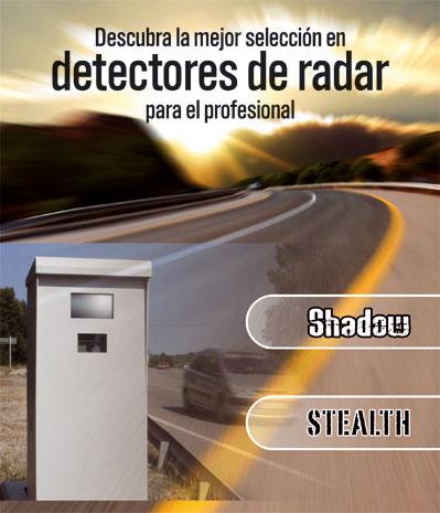 EQUIPO DETECCION DE RADAR INDETECTABLE