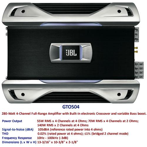 ETAPA JBL  4X55RMS