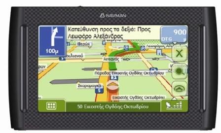 """GPS NAVMAN IBERIA 4.3"""" PAN.TACTIL+ASIS.CA"""