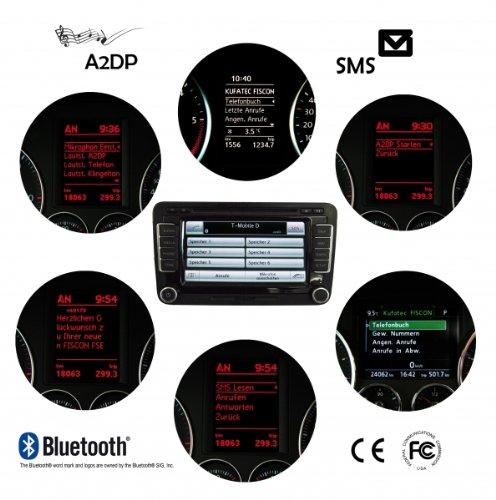 KIT BLUETOOTH AUDI BASIC PLUS FISCON