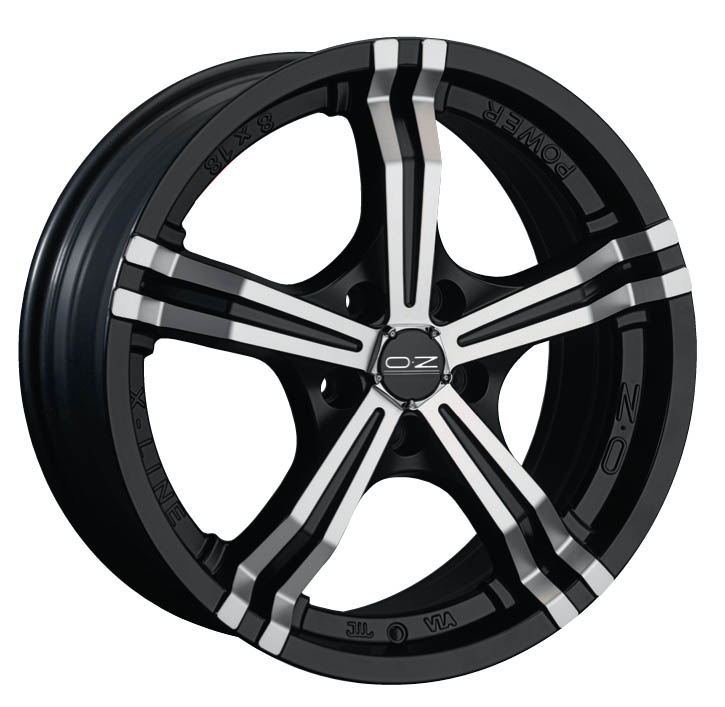 LLANTA OZ POWER BLACK 18x8.0 5X112