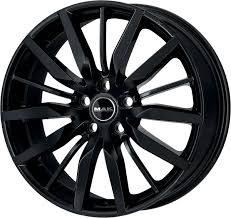 "LLANTAS 19"" MAK MODELO BARBURY BLACK GLOSS"