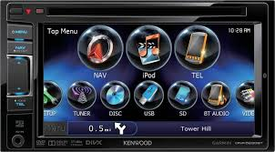 MONITOR DOBLE DIN KENWOOD CON GPS