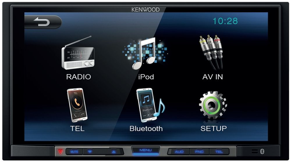 MONITOR DOS DIN KENWOOD 7""