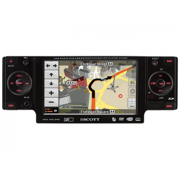 MULTIMEDIA 1-DIN GPS DVD
