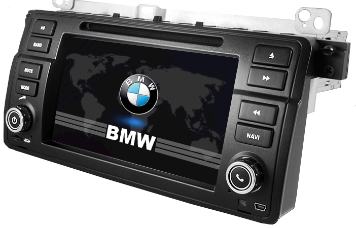 NAVEGACION BMW E46 ORIGINAL D.DIN GPS , ,BLUETOOTH ,USB TACTIL