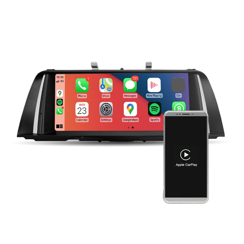 Navegador 10,25' para BMW Serie 5 F10 NBT. Carplay Wireless / Android Auto