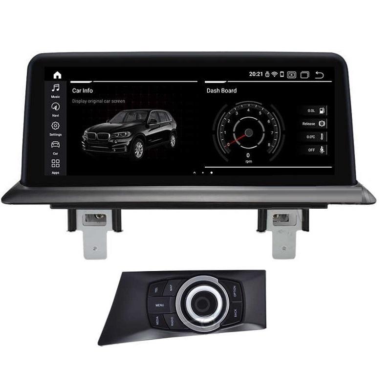 Navegador 10.25´´ BMW Serie 1 E series, pantalla superior. Brilliant 300 – A8, 4 Core, 2+16