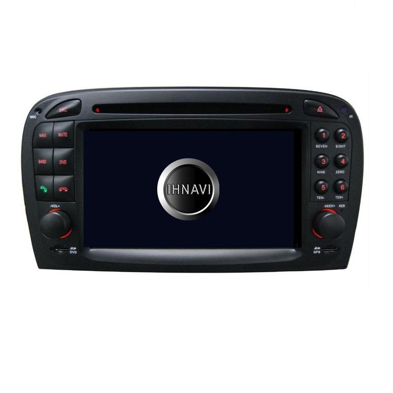 Navegador 6.2'' para Mercedes SL R230. Titanium300 – A8 / A10, 8 Core, 4+32