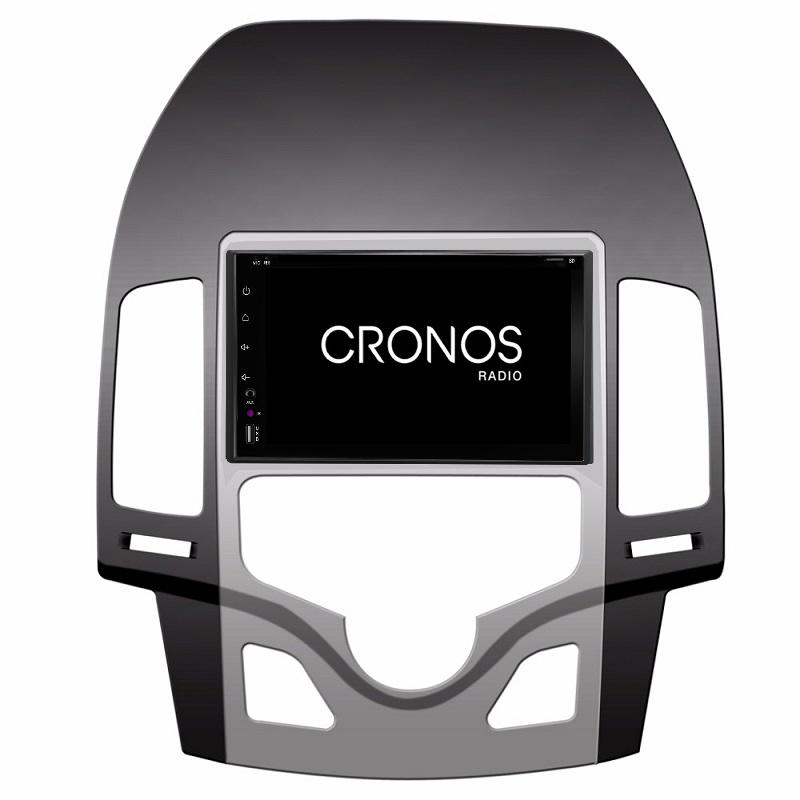 Navegador 6.2´´ para Hyundai i30 CLIMA AUTO. Adaption Cronos - A10, 4 Core, 2+16
