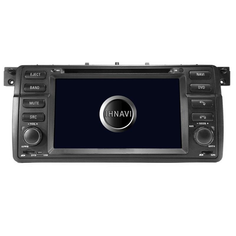 Navegador 7´´ para BMW Serie 3 E46. Titanium 200 – A4.4.4, 4 Core, 1+16