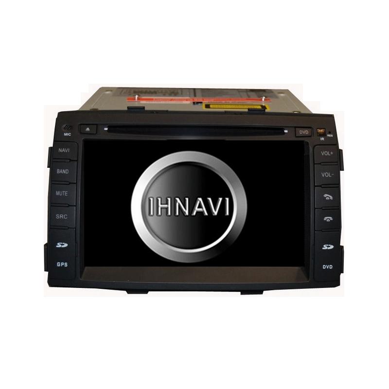 Navegador 7´´ para Kia Sorento II. Excellent 200 – A4.4.4, 4 Core, 2+16