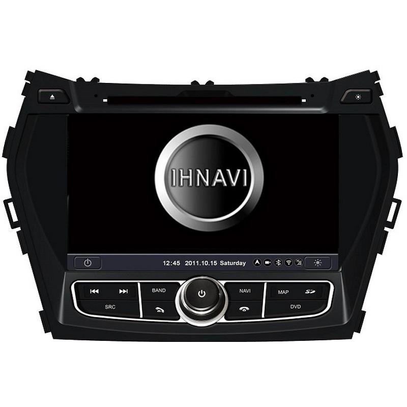 Navegador 8´´ para Hyundai Santa Fe +2013. Excellent 200 – A4.4.4, 4 Core, 2+16