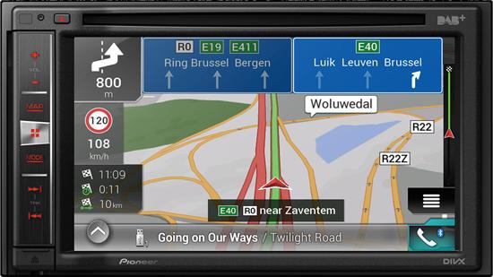 PANTALLA GPS DOS DIN PIONEER
