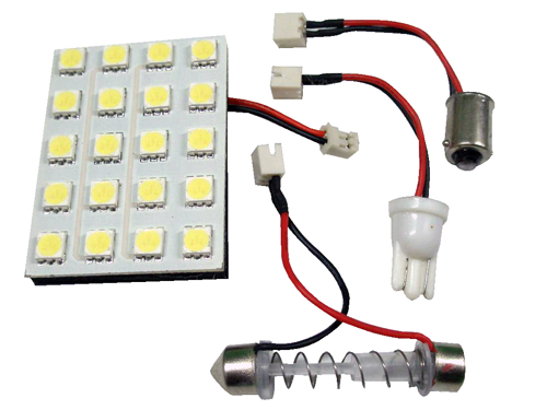 PLACA 20 LED BALNCOS 50*35MM