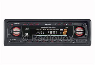 RADIO CARATULA EXTRAIBLE SD Y USB Y AUX