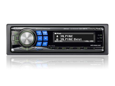 RADIO CD ALPINE MOL. CDA-9887R