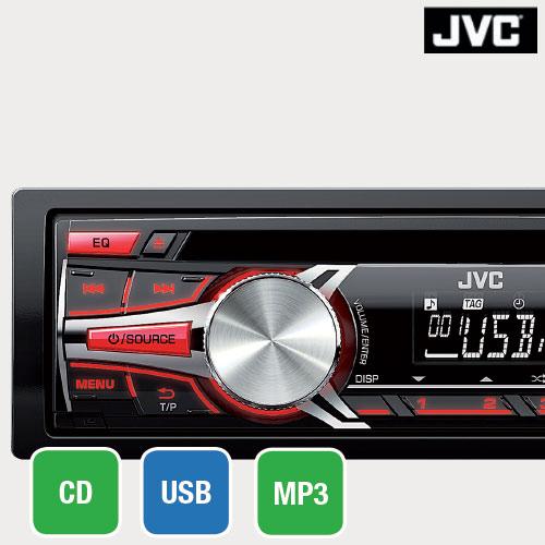 RADIO CD JVC BT
