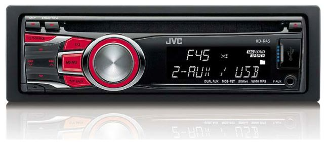 RADIO CD JVC USB, KD-R45E