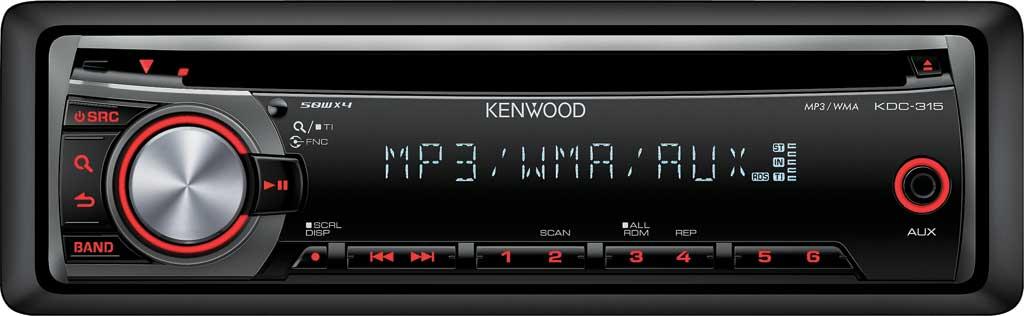 RADIO CD KENWOOD 2011