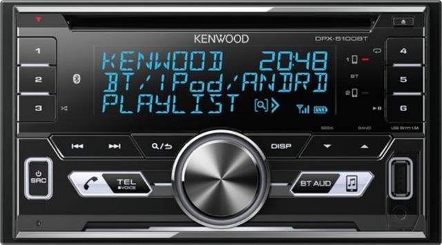 RADIO DOBLE DIN KENWOOD 2018/19