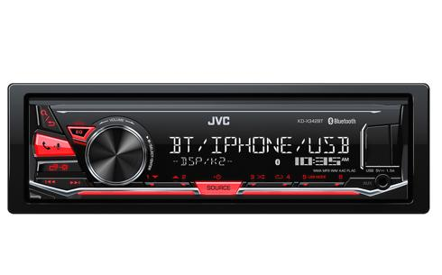 RADIO JVC USB 2017
