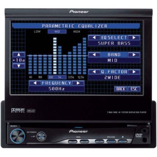 RADIO MONITOR PIONEER CON BT.