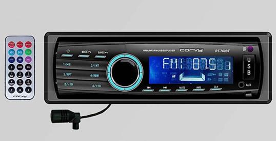 RADIO USB,SD,MP3 +BLUETOOTH CORVY
