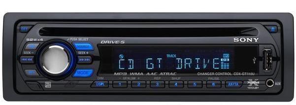 R/CD MP3 SONY C/USB Y ENTRADA DE IPOD
