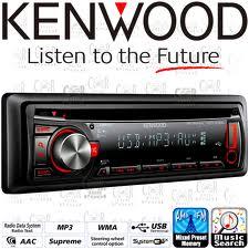 R/CD/MP3 KENWOOD