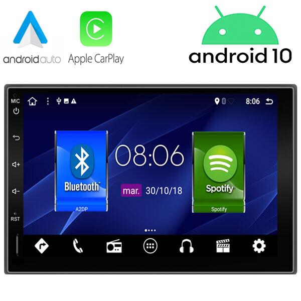 Radio navegador 2 DIN Android / Nueva versión incluye Carplay & Android Auto