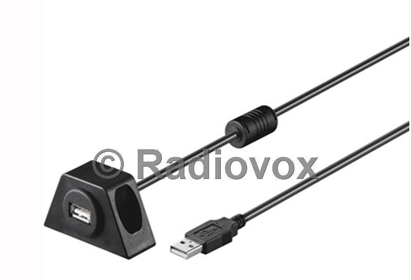 SOPORTE +ALARGADOR USB