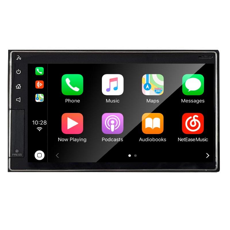 Sistema 2 DIN 6.5´´ Carplay y Android Auto. Brilliant. Linux