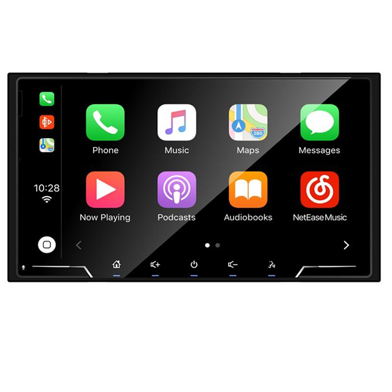 Sistema 2 DIN 7´´ Carplay y Android Auto. Brilliant. Linux